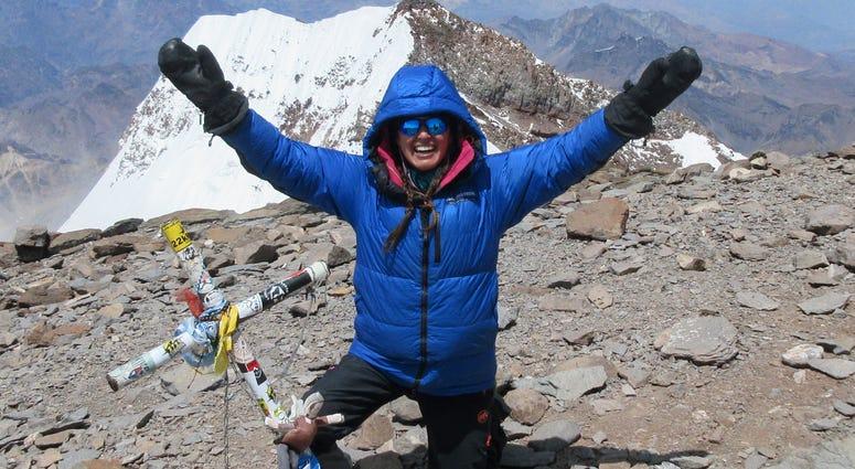 Navy veteran completes solo climb up Mt. Aconagua