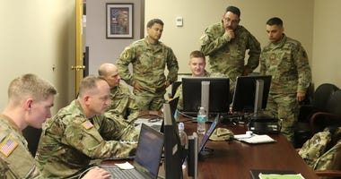 Army training is increasingly online