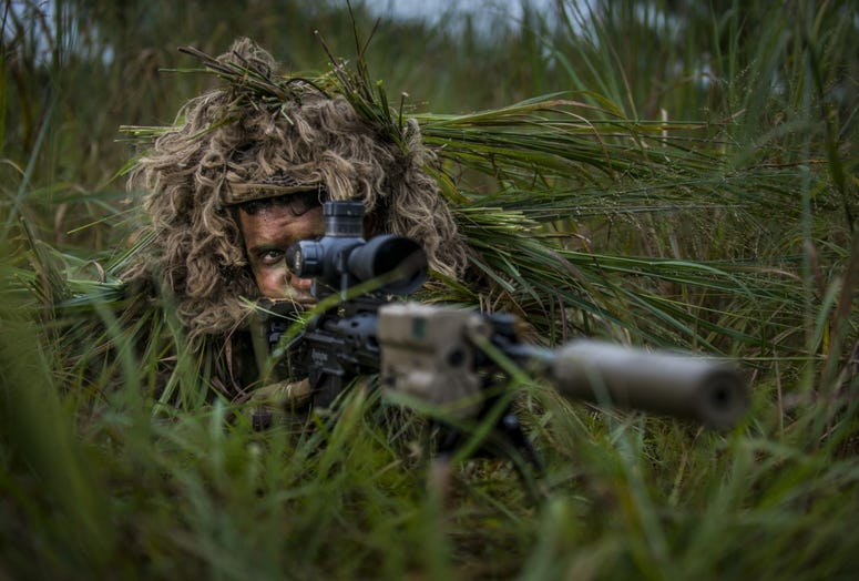 Army sniper training