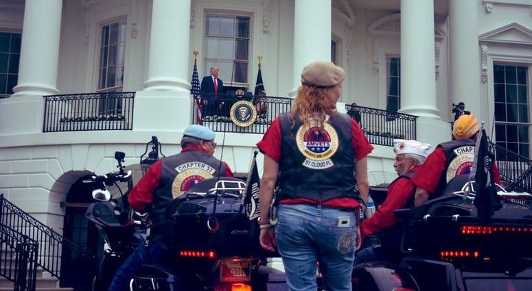 Biker White House