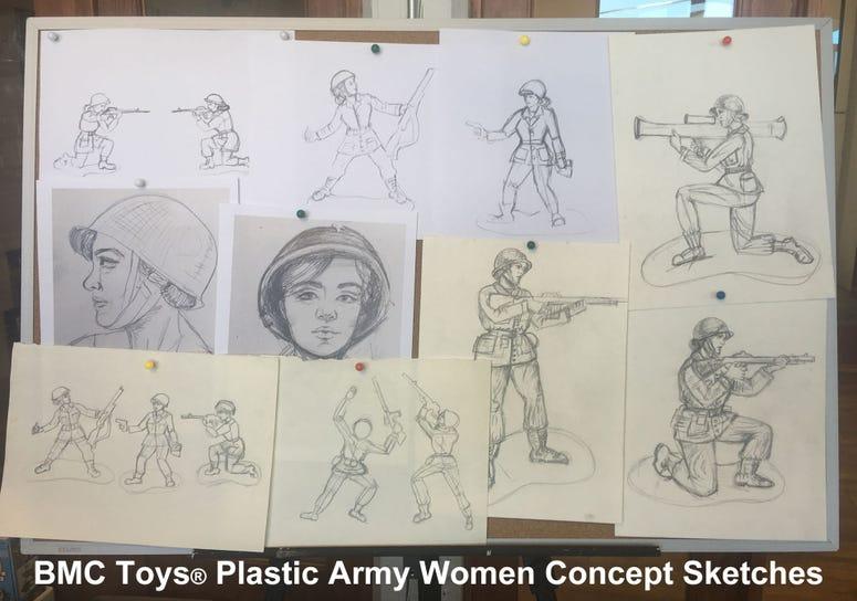 PlasticArmyWomenplans