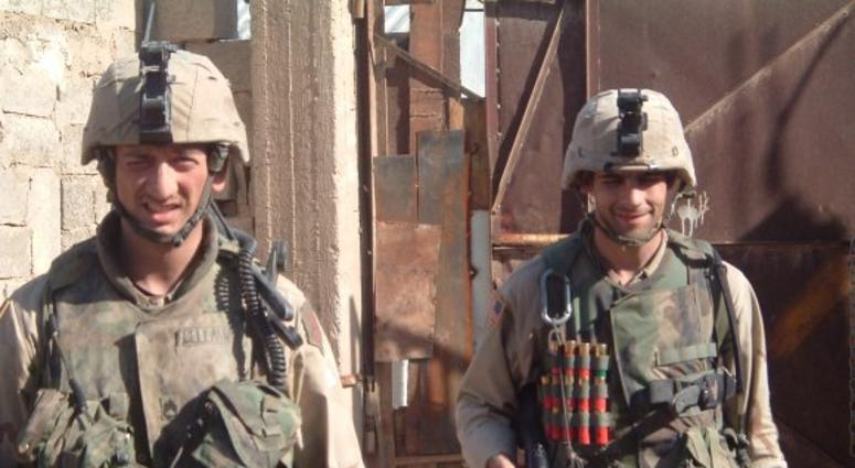 Medal of Honor winner Staff Sgt David Bellavia