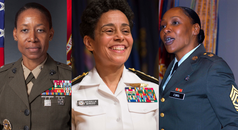 12 black female service members who have made history