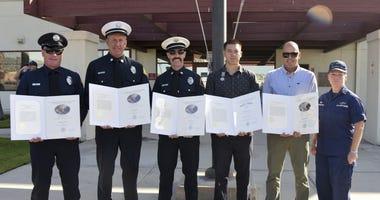Coast Guard awards