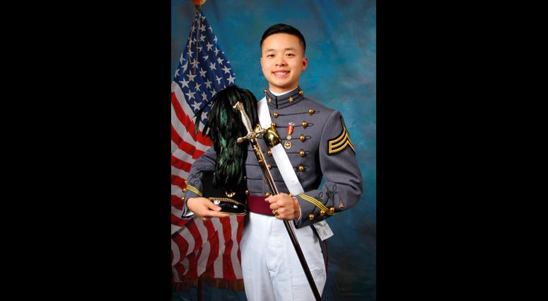 West Point Cadet Peter Zhu