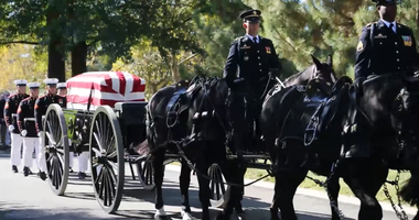 Funeral at Arlington National Cemetery