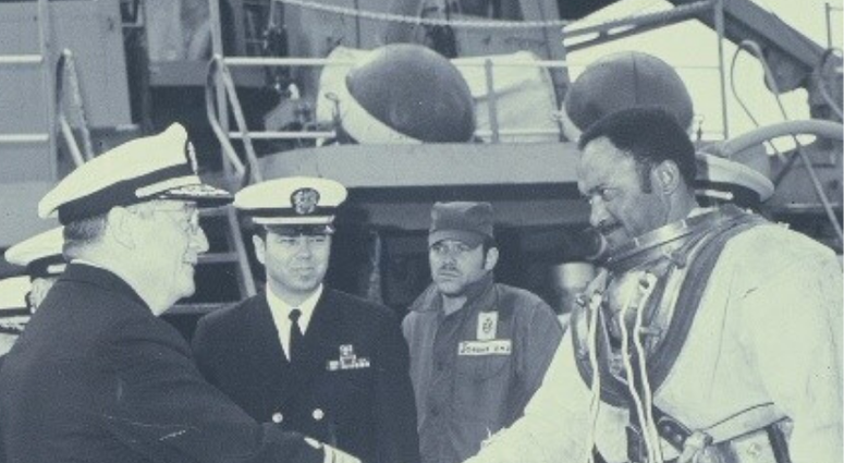 Black History Month: Master Chief Carl Brashear, the first African American master diver in the U.S. Navy