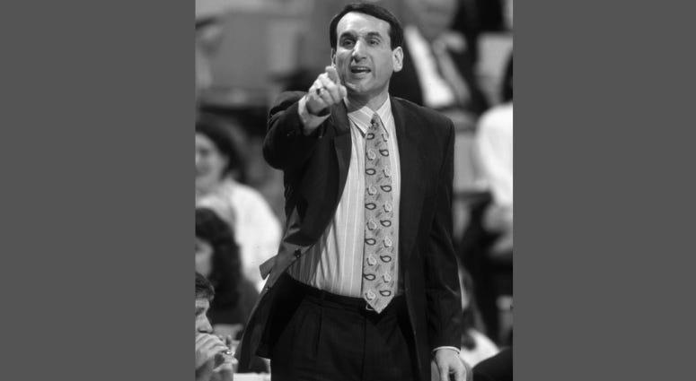 Coach Mike Krzyzewski, Duke Mens Basketball
