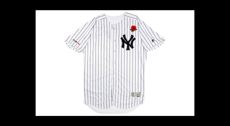 MLB to commemorate Memorial Day with a Poppy jersey.