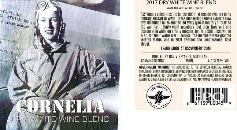 Cornelia Wine Label