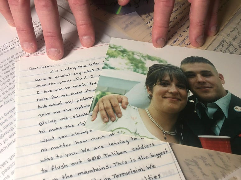Letters of love to sweethearts and family from The Center for American War Letters.