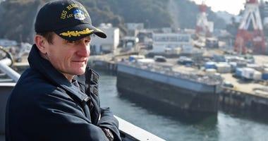 Former Capt. Brett Crozier