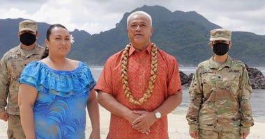 American Samoa roll call at the DNC