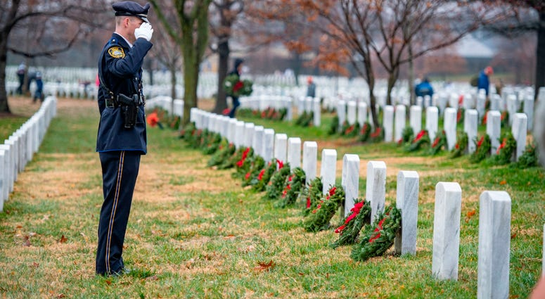 Arlington National Cemetery Wreaths Across America