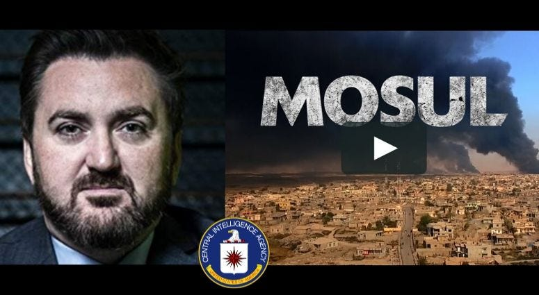 Dan Gabriel, is a former CIA officer and the filmmaker behind the documentary Mosul.