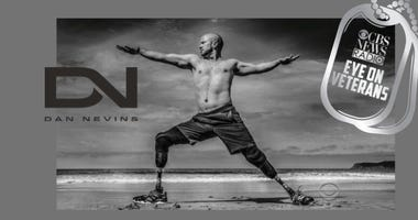 Dan Nevins Wounded Warrior Project Ambassador yoga master