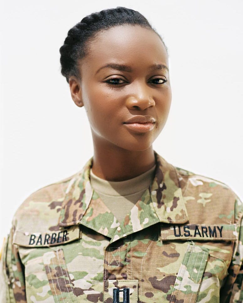 Army officer, former Miss USA, Deshauna Barber now leading the Service Women's Action Network