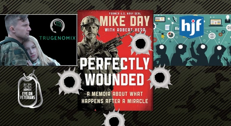 SEAL Mike Day's new book Perfectly Wounded, Henry M Jackson Foundation, and AMVETS teams up with TruGenomix for PTSD research
