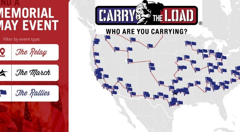 Carry The Load fouder Retired Navy SEAL Stephen Holley and Army Colonel (Ret.) Mark Elliott, JP Morgan Chase