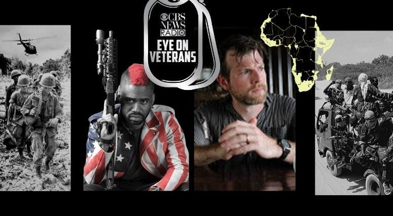 Eye on Veterans features The Marine Rapper, a Vietnam vet exhibit and Jack Murphy details a battle in Somalia