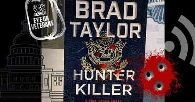 Brad Taylor book Hunter Killer on CBS Eye on Veterans