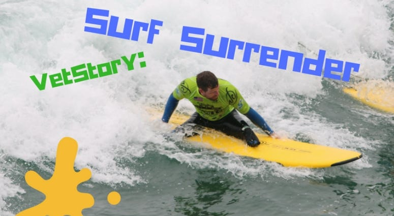 Army veteran Caleb Brewer and pro surfer Danny Nichols talk about Operation Surf in California