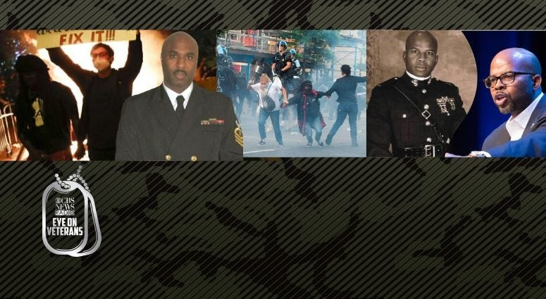 Veterans Sherman Gillums Jr and Anthony Elder discuss racism in America