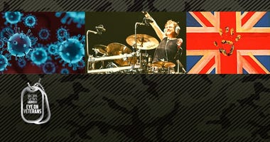 Def Leppard drummer Rick Allen is special guest on CBS Eye on Veterans