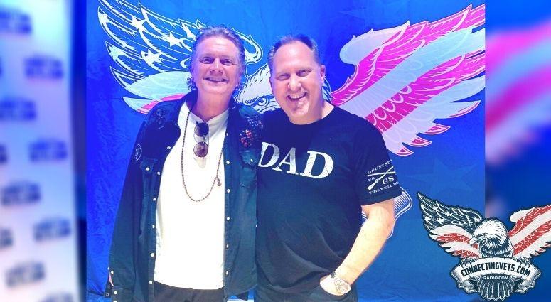 Def Leppard drummer and CBS Eye on Veterans host, Phil Briggs