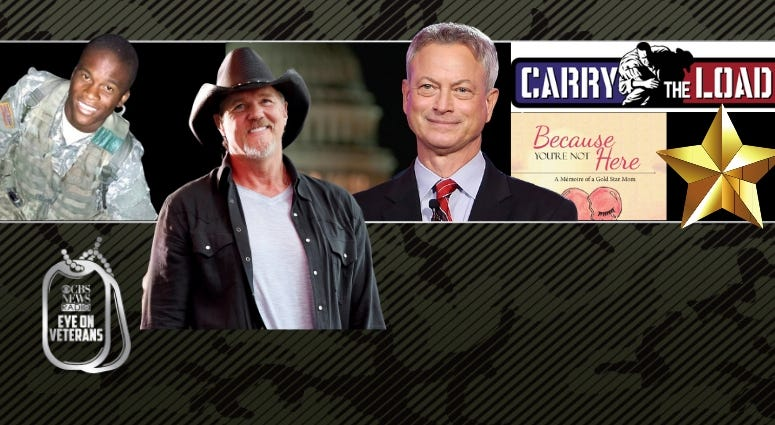 Author Sheila Mitchell-Murphy, Carry the Load, musician Trace Adkins and actor Gary Sinise