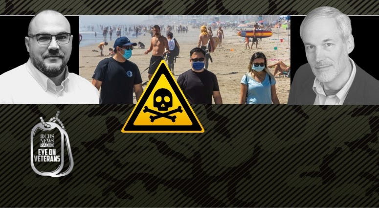 Maj. Nathan Fisher and Dr Mark Kortepeter discuss the COVID danger this Summer