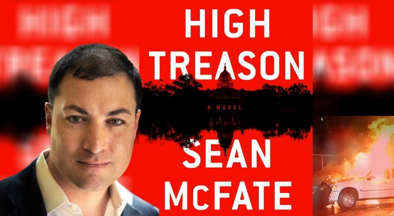 """Army veteran, former CIA contractor and foreign policy expert Sean McFate discusses his latest novel, """"High Treason"""""""