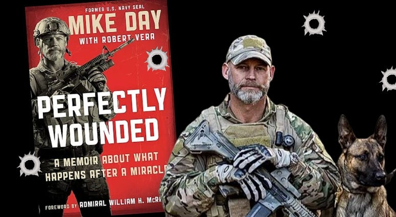 Retired SEAL Mike Day talks about his book Perfectly Wounded