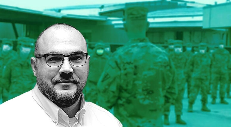 Army Microbiologist and Disease Expert Nathan Fisher answers questions about COVID