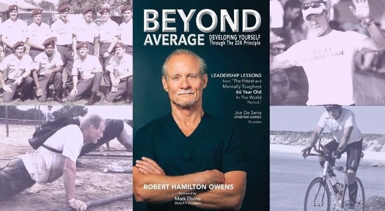 "Air Force PJ veteran Robert Ownes talk about his book ""Beyond Average"""