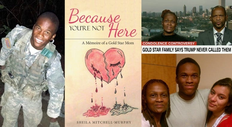 """We talk with Gold Star Mother Sheila Mitchell-Murphy about her new book """"Beacuse You're Not Here"""""""
