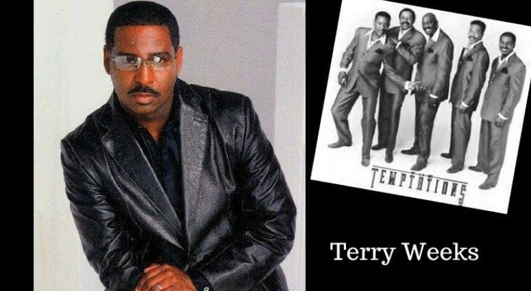 Terry Weeks went from singing in the Air Force to being a member of Motown's legendary Temptations