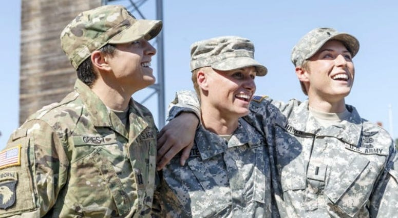 In 2015 Capt. Kristen Griest, Lt Colonel Lisa Jaster and 1st Lt. Shaye Haver were the first three women to become US Army Rangers