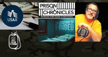 The Prison Chronicles podcast and USAA donates 30M dollars for COVID assistance
