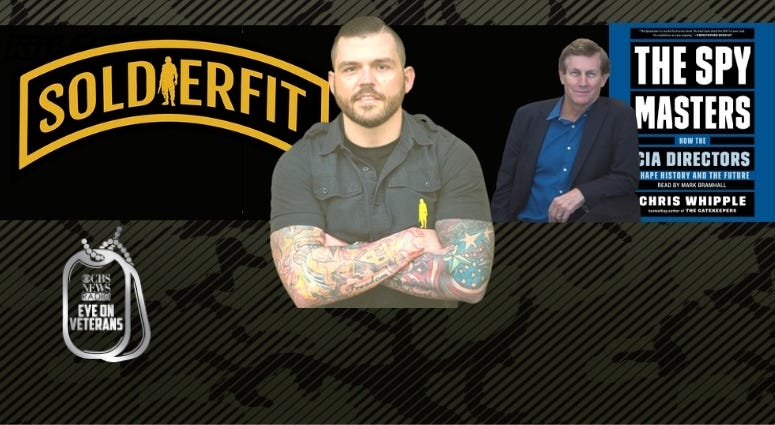 """Danny Farrar the inspirational founder of SoldierFit and Chris Whipple talks about his new book """"The Spy Masters: How CIA Directors shape history and the future"""""""