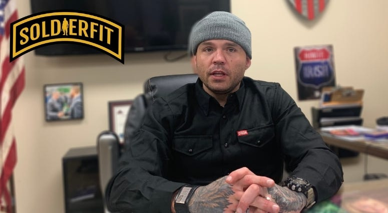 SoldierFit founder Danny Farrar's story is 100 percent inspiration