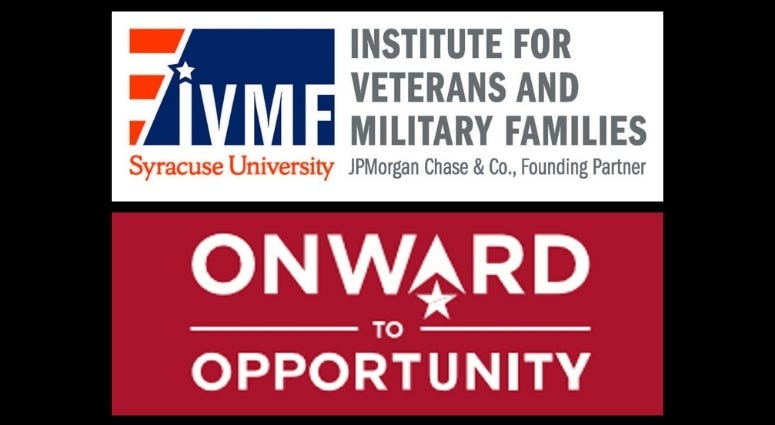 Syracuse University Institute for Veterans and Military Families Onward to Opportunity program