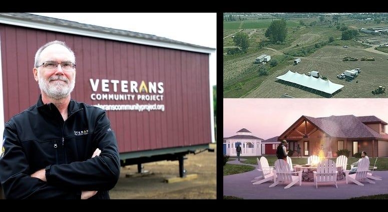 Paul Melroy talks about the Veterans Village in Longmont, CO