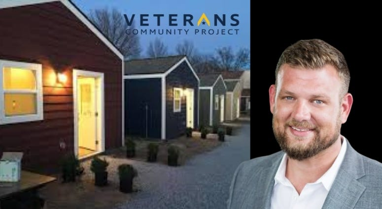 Bryan Meyer talks about the Veterans Community Project