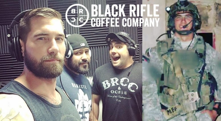Mat Best from Black Rifle Coffee Company, former Army Ranger