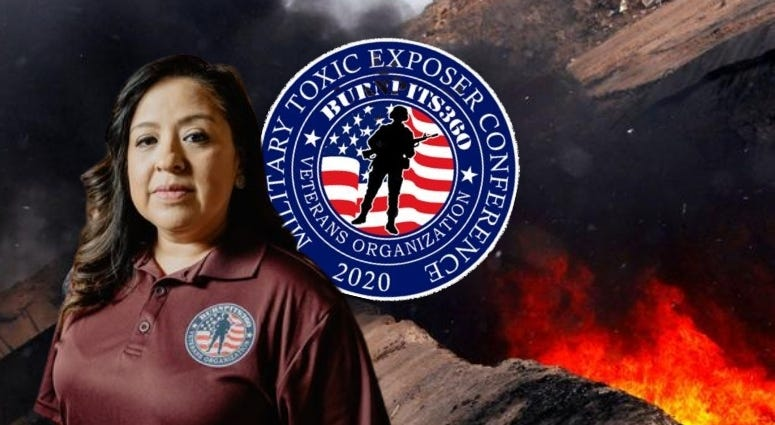 Rosie Torres, founder Burn Pits 360 talks about upcoming Military Toxic Exposures Conference