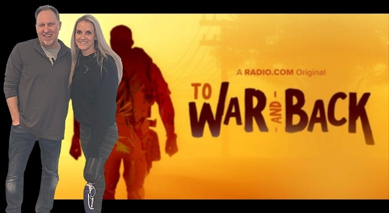 Marine Corps combat veteran Kirstie Ennis talks with Phil Briggs on To War and Back podcast