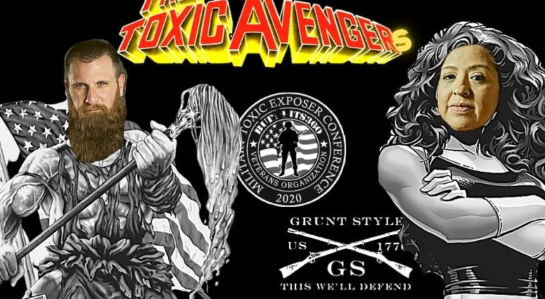 Grunt Style, Tim Jensen and Burn Pits 360 Rosie Torres team up for Military Toxic Exposures Conference August 28, 2020