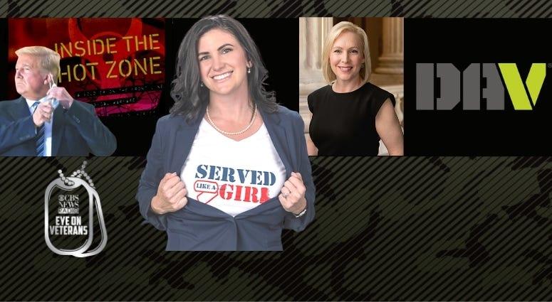 Ms Veteran America contest finalist Amanda Siddons, Dr. Mark Kortepeter, Sen. Kiersten Gillibrand and DAV are on CBS Eye on Veterans
