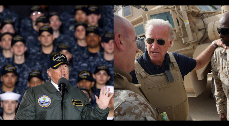 Donald Trump Versus Joe Biden On National Security Military Connecting Vets